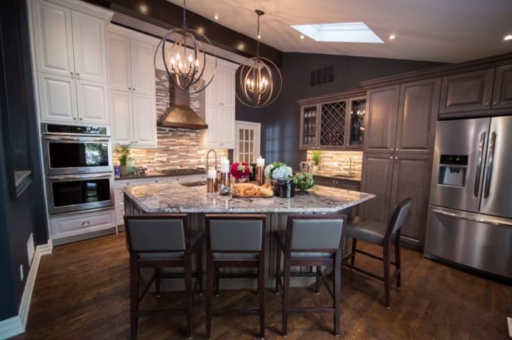 Progress Lighting Equinox pendants  featured on HGTV's Property Brothers